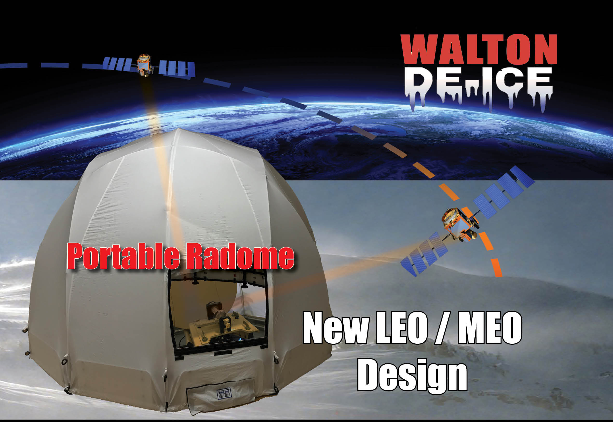 Walton Portable Radome for LEO / MEO